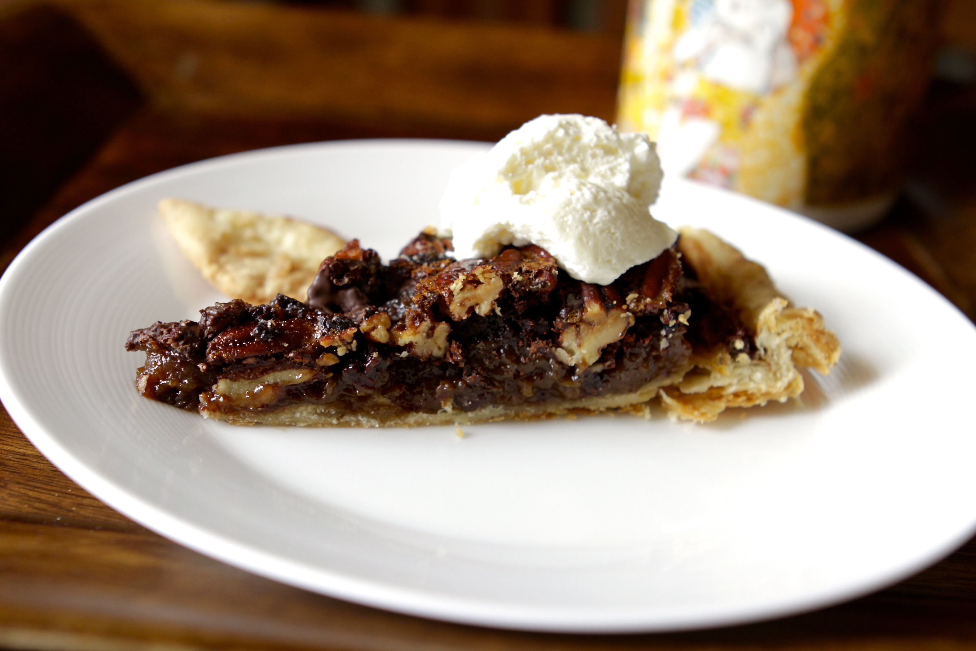 Chocolate Espresso Pecan Pie - Baby Bird's Farm and Cocina