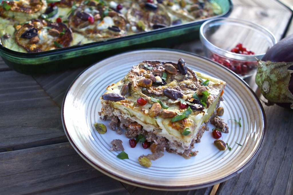 Pomegranate and Lamb Moussaka