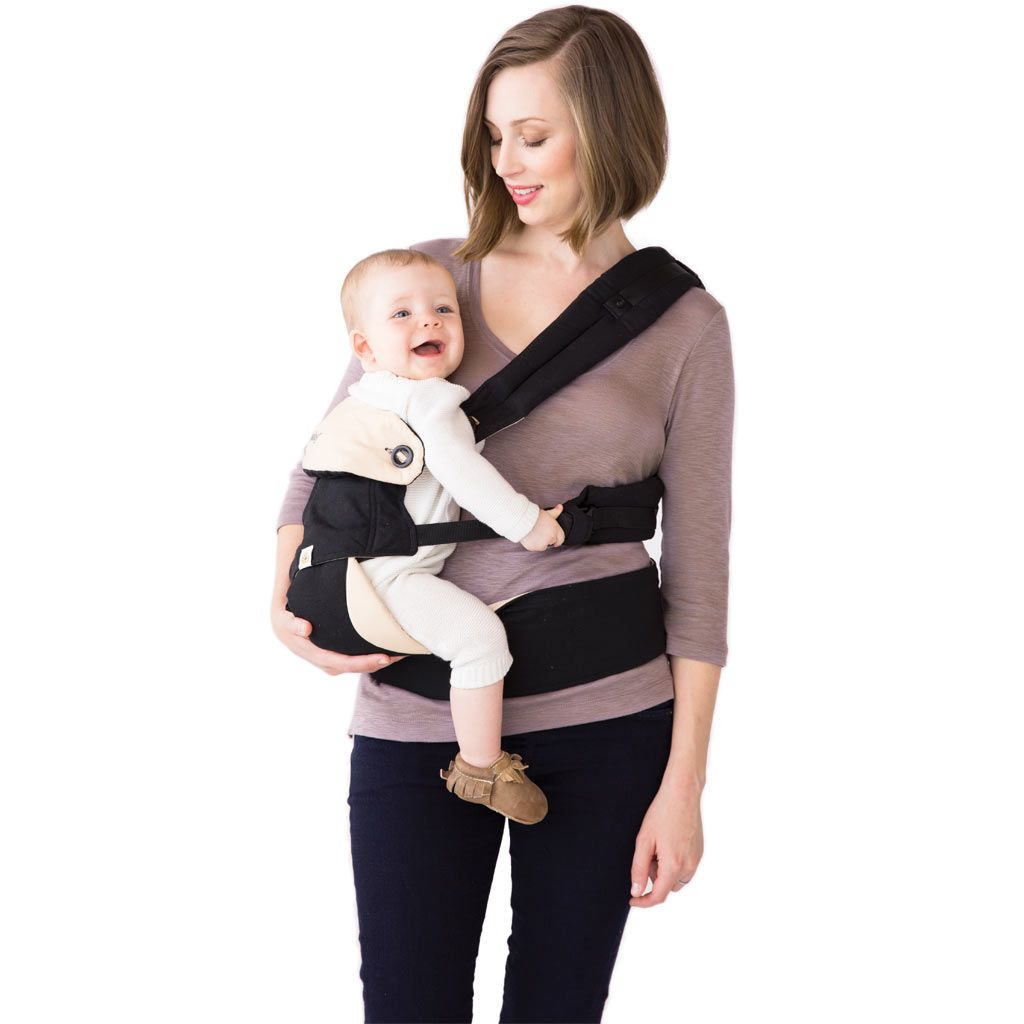 ergobaby 360 worn on hip