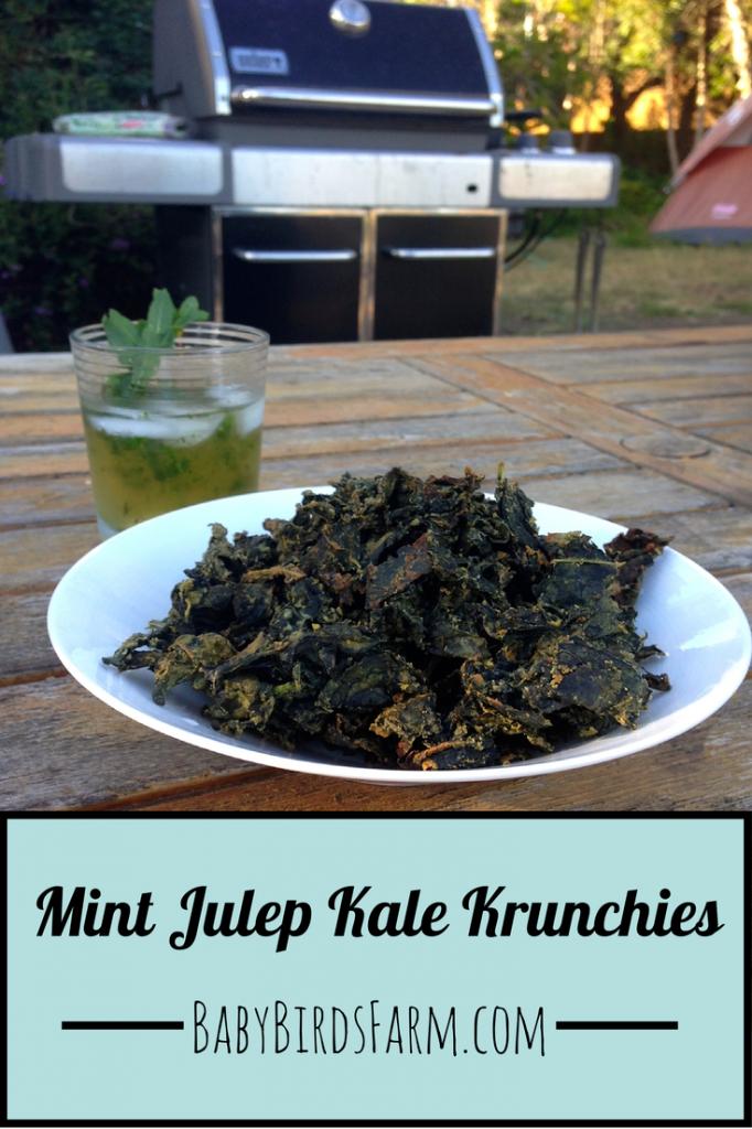 Mint Julep Kale Krunchies