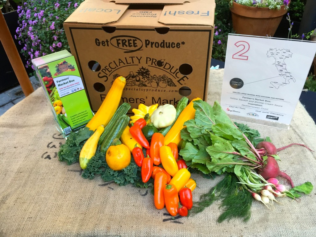 Example of a Specialty Produce Farmer's Market Box