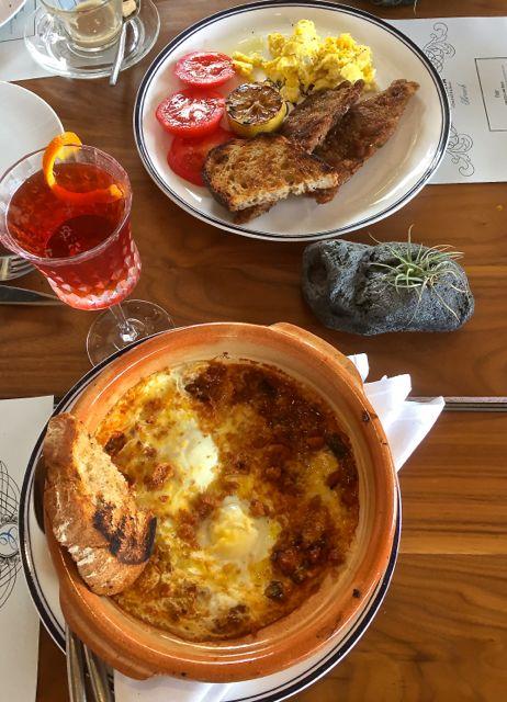 Italian brunch at Catania in La Jolla, CA