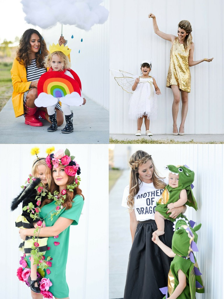 Four Mom and Kid Halloween Costume Ideas