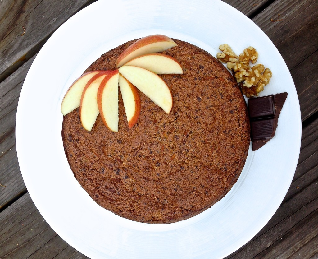 Apple Walnut Torte Recipe — Dishmaps